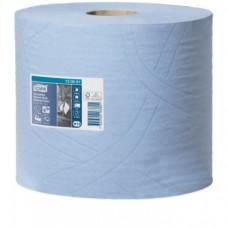Tork: Салфетка W1, W2 Advanced 119м/24 3сл 350л бумажная суперпрочная голубая