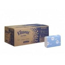 Kimberly-Clark: Полотенца бумажные Клинекс Ультра 150л 2сл 23,8х23,3см белые