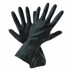 Перчатки: резиновые КЩС тип 2