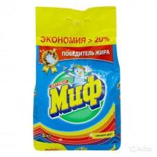 Стиральный порошок Миф-автомат 6кг КОЛОР СВЕЖИЙ ЦВЕТ