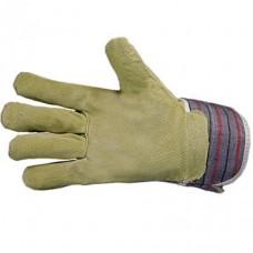 Перчатки: спилковые комбинированные