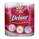 """Бумажные полотенца: Делюкс/""""Ь"""" двухслойные белые"""