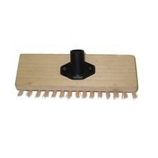 Хозяйственный инвентарь: Щетка полотерная на деревянной основе