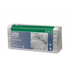 Tork: Салфетка W4 Premium 120л 1сл 35,5x42,8см нетканый материал для удаления масла серая
