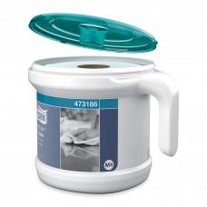 Tork: Диспенсер М4 Reflex старт-набор (диспенсер переносной + полотенца) белый