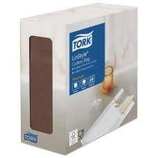 Tork: Конверты LinStyle 39х39 для столовых приборов какао /пач.=50 шт.