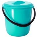 Хозяйственный инвентарь: Ведро 12л пластик с крышкой